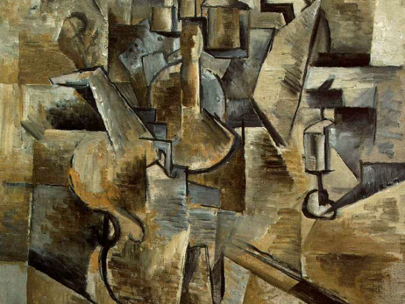 Picasso Cubism Painting